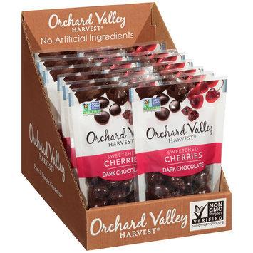 Orchard Valley Harvest® Dark Chocolate Sweetened Cherries 1.9 oz.