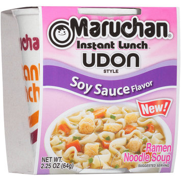 Maruchan® Instant Lunch Udon Style Soy Sauce Flavor Ramen Noodle Soup 2.25 oz. Sleeve