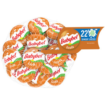 Mini Babybel® Gouda Cheese Wheel 22 ct
