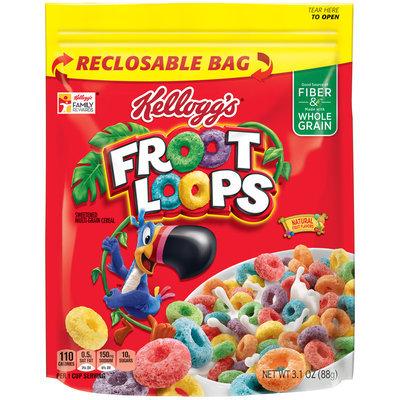 Kellogg's® Froot Loops® Cereal 3.1 oz. Bag