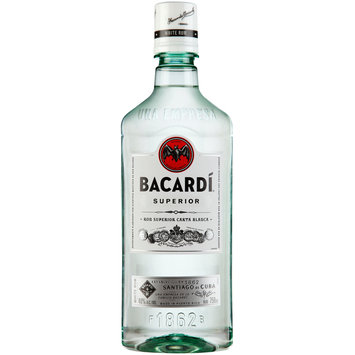 Bacardi® Superior White Rum 750mL