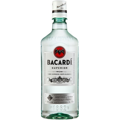 Bacardi® Superior White Rum 750mL