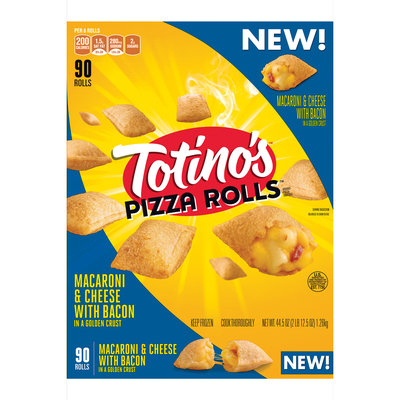 Totino's™ Macaroni & Cheese with Bacon Pizza Rolls 90 ct Bag