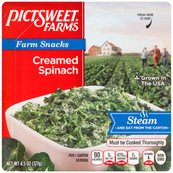 Pictsweet Farms® Farm Snacks Creamed Spinach