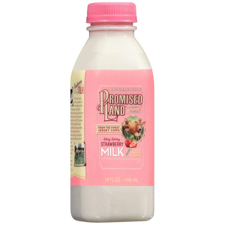 Promised Land Dairy® Very Berry Strawberry Milk