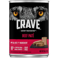 Crave™ Beef Pate Dog Food 12.5 oz. Can