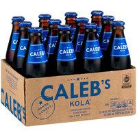 Caleb's Kola™ Soda 12-10 fl. oz. Glass Bottles