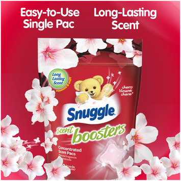 Snuggle® Scent Boosters® Cherry Blossom Charm® Concentrated Laundry Scent Pacs 21.1 oz. Bag