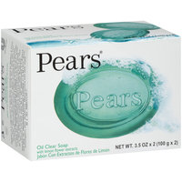 Pears® with Lemon Flower Extracts Oil Clear Soap 2-3.5 oz. Box