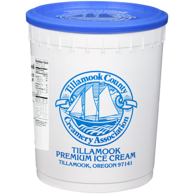Tillamook® Chocolate Ice Cream 3 gal. Tub