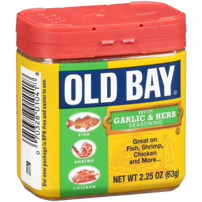 Old Bay® Garlic & Herb Seasoning 2.25 oz. Jar