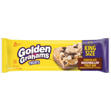 Golden Grahams™ Chocolate Marshmallow Treat Bars 2.1 oz. Wrapper