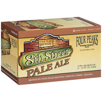 Four Peaks Brewing Company® 8th Street Pale Ale  6-12 fl. oz. Cans
