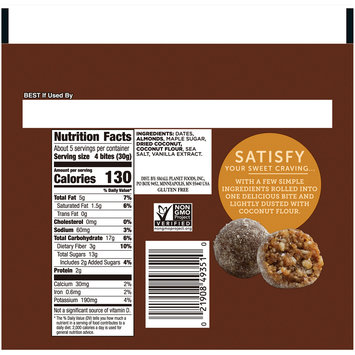Larabar™ Caramel Sea Salt Bites 5.3 oz. Pouch