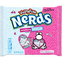 NERDS Valentine Strawberry/Punch Candy 4 oz. Bag