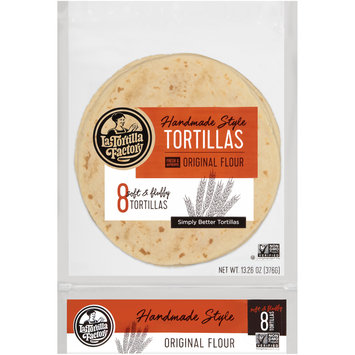 La Tortilla Factory® Original Flour Handmade Style Tortillas 8 ct Bag