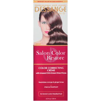 Dessange Paris Salon Color Restore Color Correcting Creme Rinse-Out Treatment 4.2 fl. oz. Box
