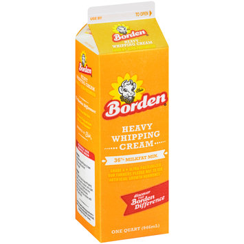 Borden® Heavy Whipping Cream 1 qt. Carton