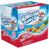 Hawaiian Punch Fruit Juicy Red, 12 Fl Oz Cans, 24 Pack