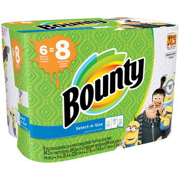 Bounty® Printed Paper Towels Featuring Despicable Me 3