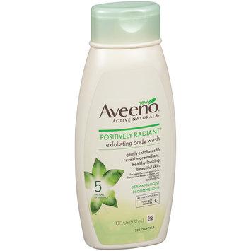 Aveeno® Active Naturals® Positively Radiant® Exfoliating Body Wash 18 fl. oz. Squeeze Bottle