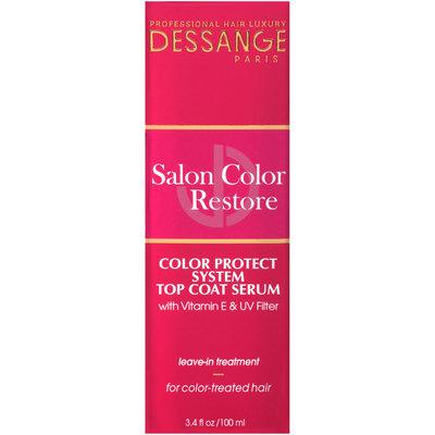 Dessange Paris Salon Color Restore Color Protect System Top Coat Serum Leave-In Treatment 3.4 fl. oz. Box