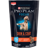 Purina Pro Plan Focus Skin & Coat Real Salmon Dog Snacks 7 oz. Pouch