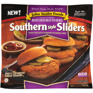 John Soules Foods® Southern Style Sliders 22 oz. Bag