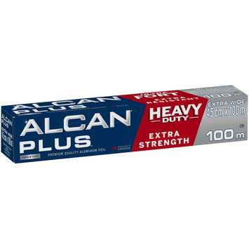 Alcan® Plus® Extra Wide Premium Quality Aluminum Foil 100m Box
