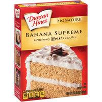 Duncan Hines® Signature Banana Supreme Cake Mix 15.25 oz. Box