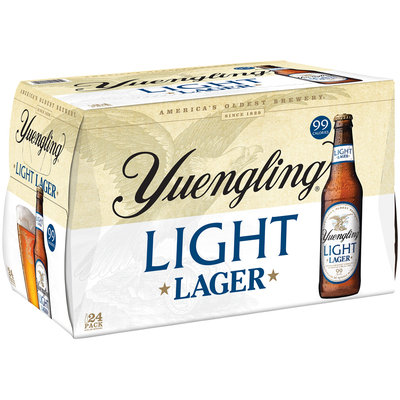 Yuengling® Light Lager 24-12 fl. oz. Bottles