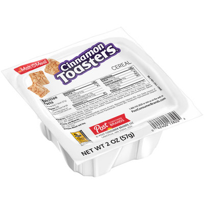 Malt O Meal® Cinnamon Toasters® Cereal 2 oz. Bowl