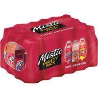 Mistic Variety Pack, 16 Fl Oz Glass Bottles, 24 Pack