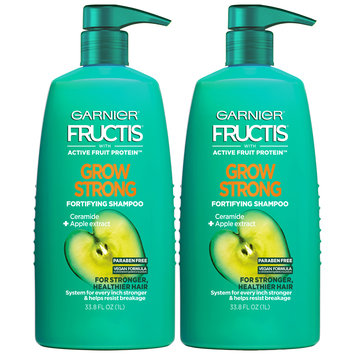 Garnier® Fructis® Grow Strong Fortifying Shampoo 2-33.8 fl. oz. Pumps