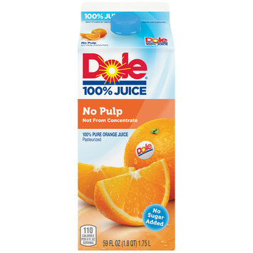 Dole 100% No Pulp Orange Juice