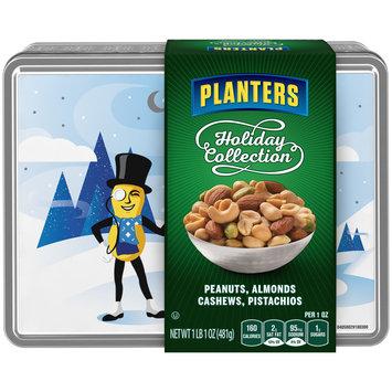 Planters Holiday Collection Peanuts, Almonds, Cashews, Pistachios 17 oz. Tin