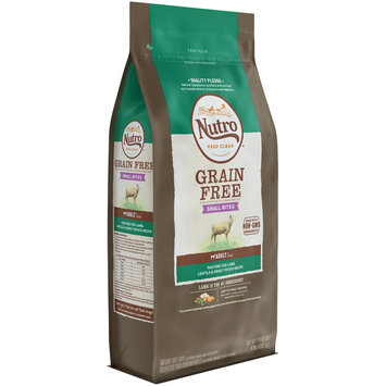 Nutro Feed Clean™ Small Bites Grain Free Pasture-Fed Lamb, Lentils & Sweet Potato Recipe Adult 1+ Years Dog Food 4 lb. Bag