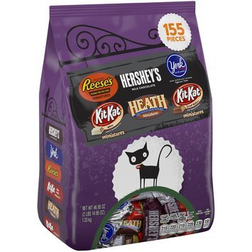 Hershey's Miniatures Assorted Candy 46.95 oz. Stand Up Bag