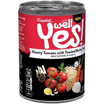 Campbell's® Well Yes!™ Hearty Tomato with Toasted Barley Soup, 16.3 oz.