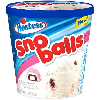 Hostess Sno Balls Ice Cream