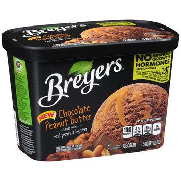 Breyers® Chocolate Peanut Butter Ice Cream 1.5 qt. Tub
