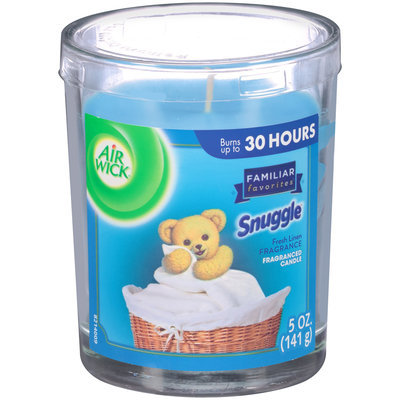 Air Wick® Familiar Favorites® Snuggles™ Fresh Linen Fragranced Candle 5 oz. Jar