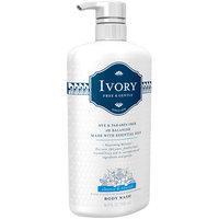 Ivory Free & Gentle Cleanse & Nourish Body Wash 16.9 fl. oz. Pump