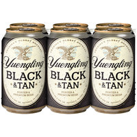 Yuengling® Black & Tan Porter & Premium Beer 6-12 fl. oz. Cans