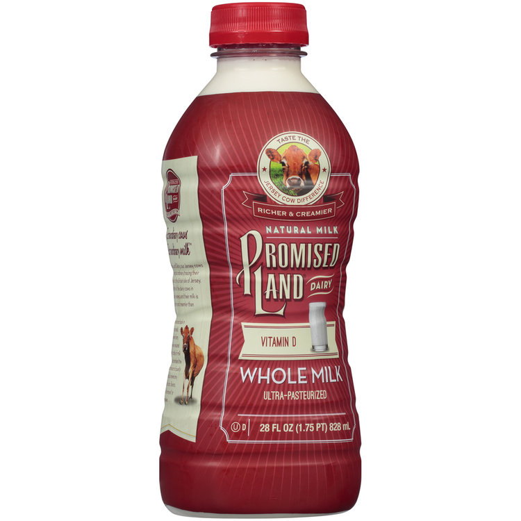 Promised Land Dairy® Vitamin d Whole Milk