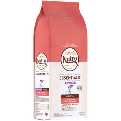 Nutro™ Wholesome Essentials™ Small Bites Adult Salmon, Brown Rice & Sweet Potato Recipe Dog Food 5 lb Bag