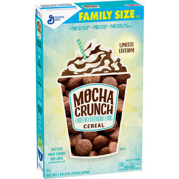 Mocha Crunch Limited Edition Cereal