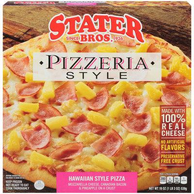 Stater Bros.® Pizzeria Style Hawaiian Style Pizza 19 oz. Box