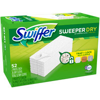 Swiffer with Febreze Lavender Vanilla & Comfort Sweeper Dry Dry Sweeping Cloths 2-26 ct Packs