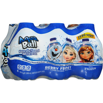AquaBall™ Berry Frost Naturally Flavored Water Drink 6-10 fl. oz. Bottles